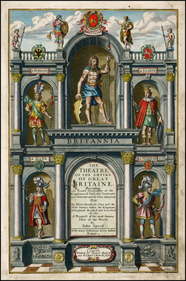 Figure 9. John Speed, The Theatre of the Empire of Great Britaine, 1676